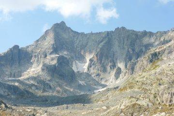 le beau mur du GraueWand et Conquest sur la droite